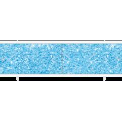 Экран под ванну раздвижной 170 см Метакам Ультралегкий синий топаз