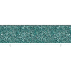 Экран под ванну раздвижной 170 см Метакам Ультралегкий зеленая елочка