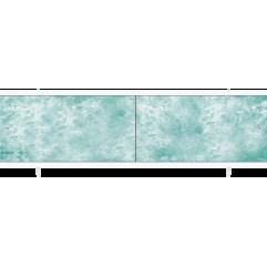 Экран под ванну раздвижной 170 см Метакам Ультралегкий зеленый изумруд