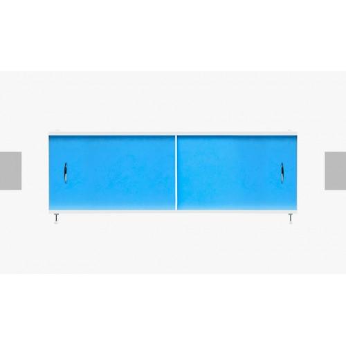 Экран под ванну раздвижной 170 см Alavann Элит синий