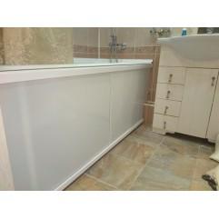 Экран под ванну на заказ акриловый 150-159 см БТ возможен вырез под трубы