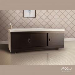 Экран под ванну на заказ любых размеров 130-156  см шириной. Высота от 57 до 70 см. Венге