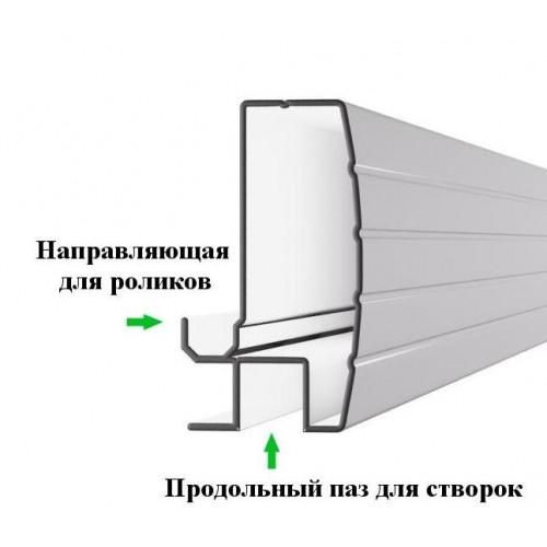 Экран под ванну раздвижной 150 см