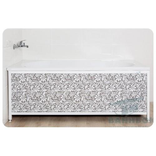 Экран под ванну раздвижной 150 см Ваннбок Ажур