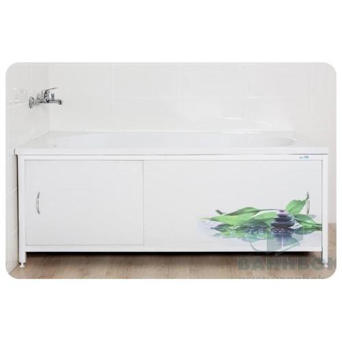 Экран под ванну раздвижной 150 см Ваннбок Дзен грин