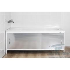 Экран под ванну раздвижной 150 см Ваннбок Металлик