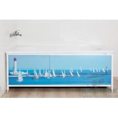 Экран под ванну раздвижной 170 см Ваннбок Регата