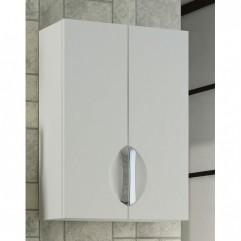 Шкаф навесной двустворчатый Франческа Доминго 50 белый