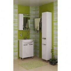 Комплект мебели для ванной Франческа Доминго 55 белый