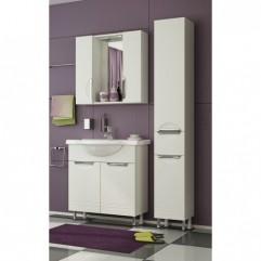 Комплект мебели для ванной Франческа Доминго 75-2 белый