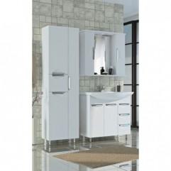 Комплект мебели для ванной Франческа Доминго 80 белый