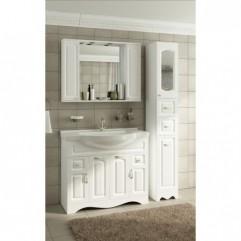 Мебель для ванной Франческа Империя 100-2 белый