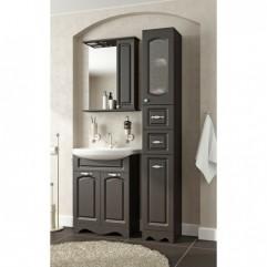 Комплект мебели для ванной Франческа Империя 60 с 2 дверцами венге