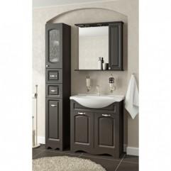 Комплект мебели для ванной Франческа Империя 75-2 венге