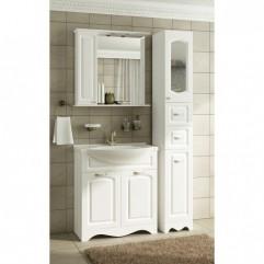 Комплект мебели для ванной Франческа Империя 75-2 белый