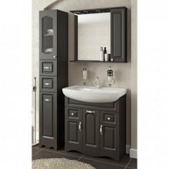 Комплект мебели для ванной Франческа Империя 80-2 венге