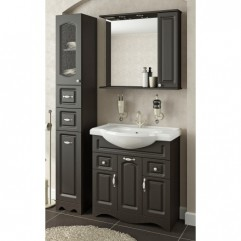 Комплект мебели для ванной Франческа Империя 80 венге