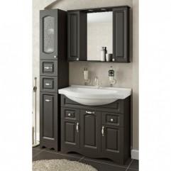 Комплект мебели для ванной Франческа Империя 90-2 венге