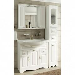 Комплект мебели для ванной Франческа Империя 90-2 белый