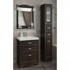 Комплект мебели для ванной Франческа Империя Н 60 венге
