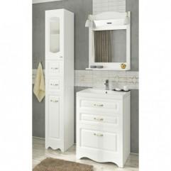 Комплект мебели для ванной Франческа Империя Н 60 белый