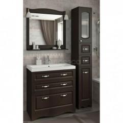 Мебель для ванной Франческа Империя Н 90 венге