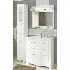 Мебель для ванной Франческа Империя Н 90 белый