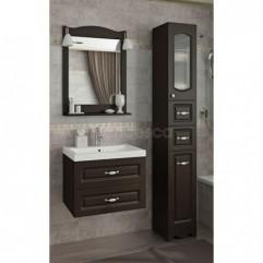 Комплект мебели для ванной Франческа Империя П 60 подвесной венге
