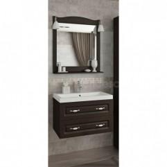 Комплект мебели для ванной Франческа Империя П 70 подвесной венге