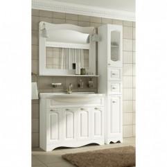 Мебель для ванной Франческа Империя 100 белый