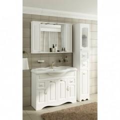 Мебель для ванной Франческа Империя 105 белый