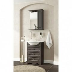 Комплект мебели для ванной Франческа Империя 55 венге