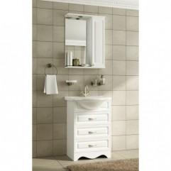 Комплект мебели для ванной Франческа Империя 55 белый