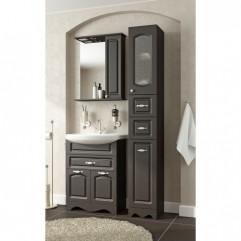 Комплект мебели для ванной Франческа Империя 60 с 1 ящиком венге
