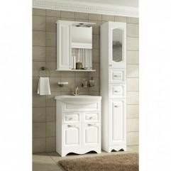 Комплект мебели для ванной Франческа Империя 60 белый