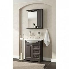 Комплект мебели для ванной Франческа Империя 70 (3 ящика) венге