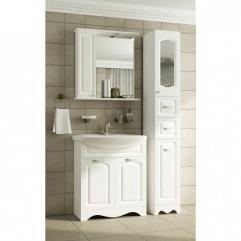 Комплект мебели для ванной Франческа Империя 70 белый