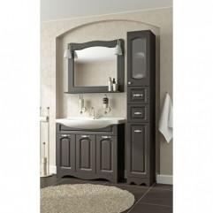 Комплект мебели для ванной Франческа Империя 90 венге