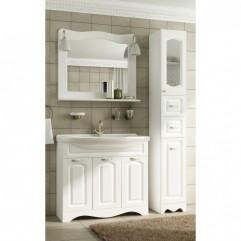 Комплект мебели для ванной Франческа Империя 90 белый