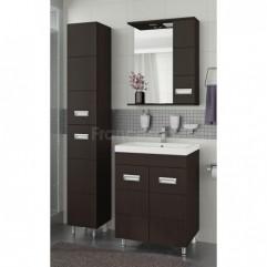Комплект мебели для ванной Франческа Кубо 60 венге