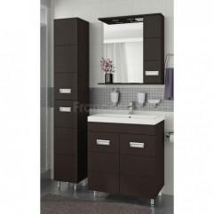 Комплект мебели для ванной Франческа Кубо 70 венге