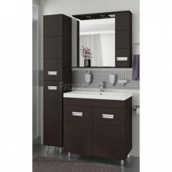 Комплект мебели для ванной Франческа Кубо 80 венге