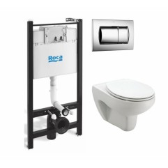 Инсталляция для подвесного унитаза Roca Active WC