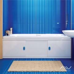 Экран под ванну на заказ любых размеров 130-156  см шириной. Высота от 57 до 90 см