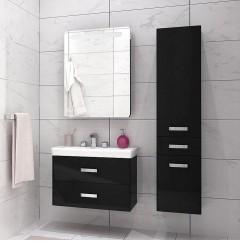 Комплект мебели для ванной Акватон Америна 70 черный