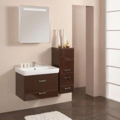 Комплект мебели для ванной Акватон Америна 70 темно-коричневый