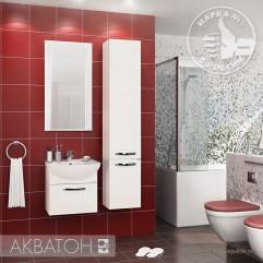 Комплект мебели для ванной Акватон Ария 50 белый