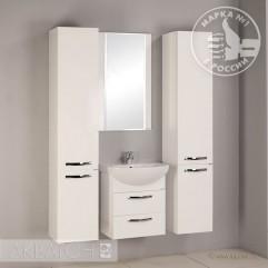Комплект мебели для ванной Акватон Ария 50 M белый