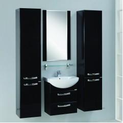 Комплект мебели для ванной Акватон Ария 50 M черный