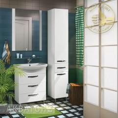 Комплект мебели для ванной Акватон Ария 65 H белый